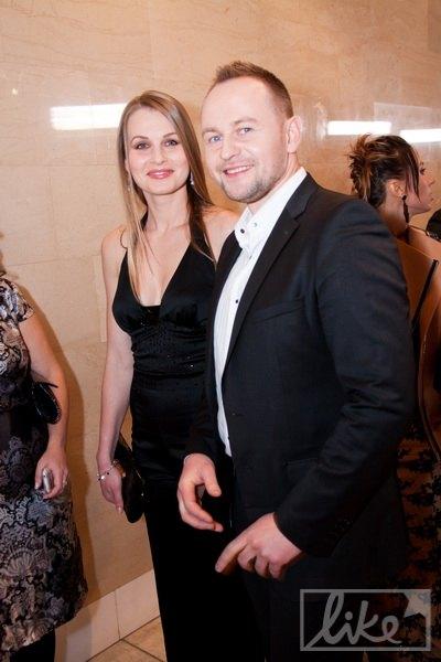 Павел Табаков с женой