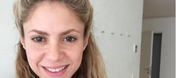Шакира показала себя без макияжа