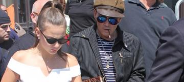 Джонни Депп собрался жениться на 20-летней русской танцовщице