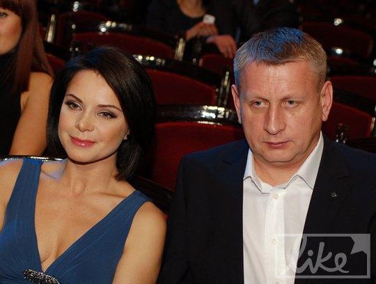 Лилия Подкопаева с бойфрендом Виктором Костырком