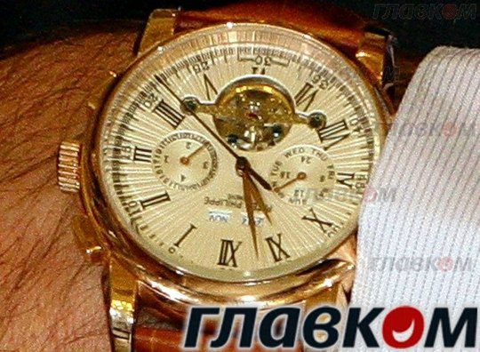 Часы Сергея Рюмшина