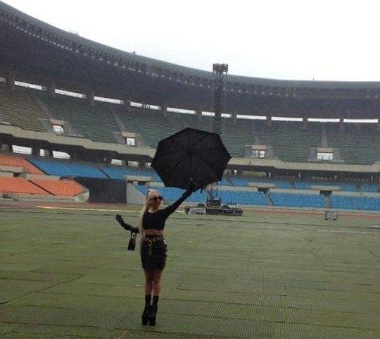 Леди Гага в Сеуле