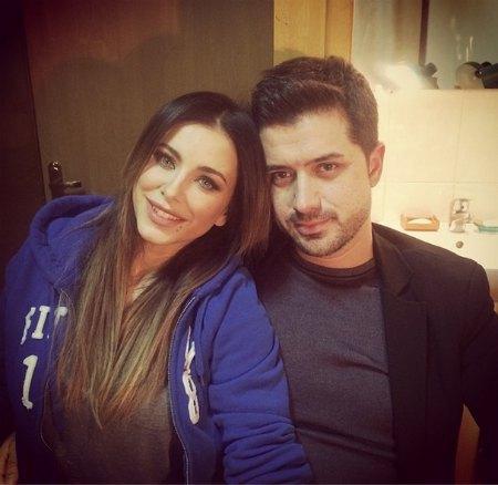 Лорак с мужем после концерта в Житомире