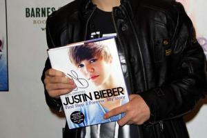Джастин Бибер написал вторую книгу
