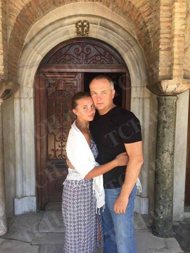 Нестор Шуфрич с женой Екатериной