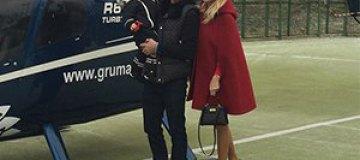 Яна Рудковская полетела в салон красоты на вертолете
