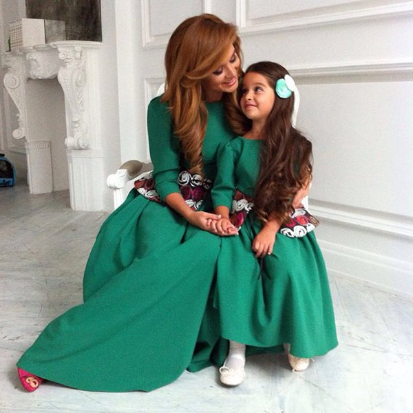 Ксения Бородина и дочь Маруся