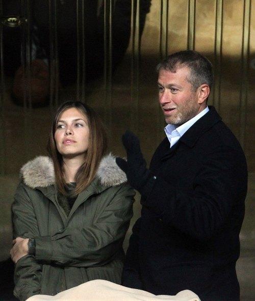 Роман Абрамович с Дашей Жуковой