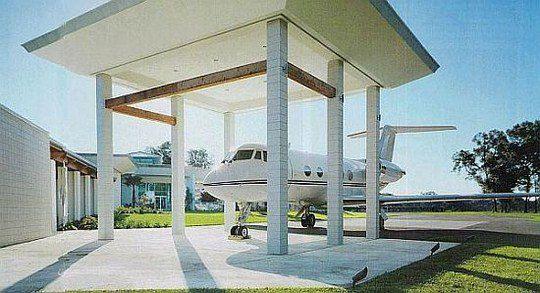 Gulfstream 3, первый самолет актера