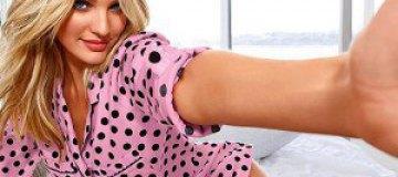 Кандис Сванеполь представляет новое белье Victoria's Secret