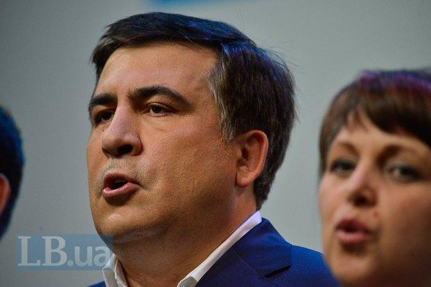 Саакашвили подпевал, как мог