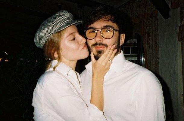 Шуфрич-младший с женой Алиной