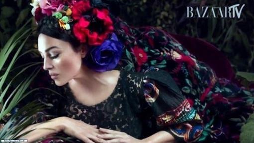 "Моника Белуччи превратилась в украинку для журнала ""Harper's bazaar"""