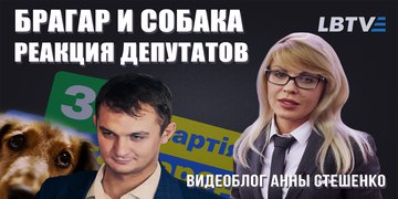 Брагар и собака. Реакция депутатов. Видеоблог Анны Стешенко