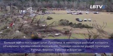 Торнадо в США: разрушено множество зданий, есть погибшие